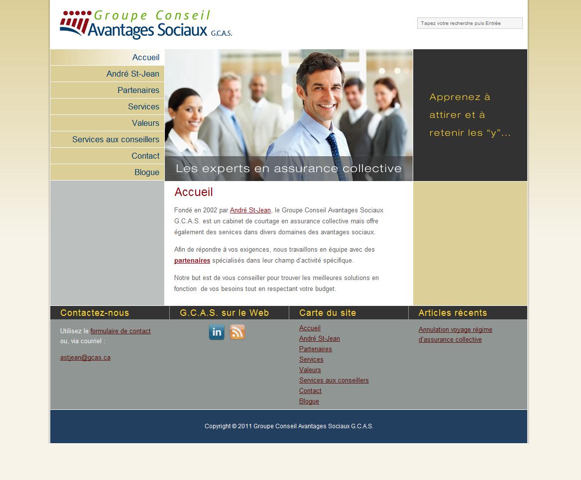 GCAS Web Site - Home Page