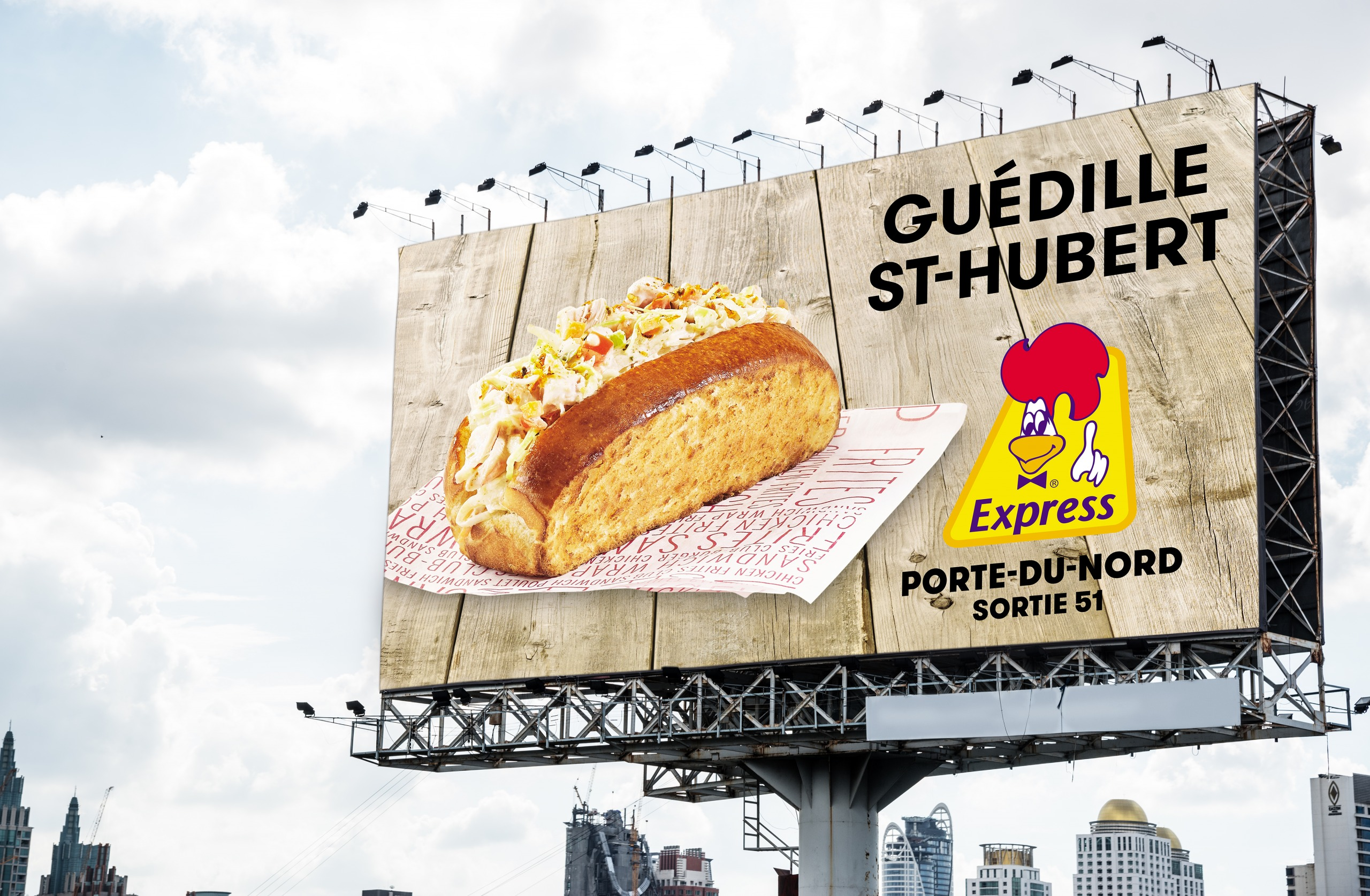 St-Hubert Billboard 2
