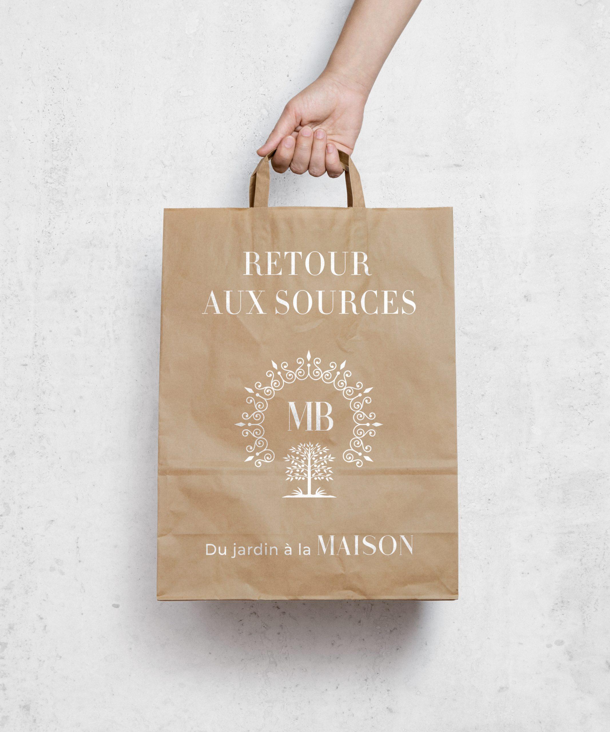 Branding - Maison Boire Bag