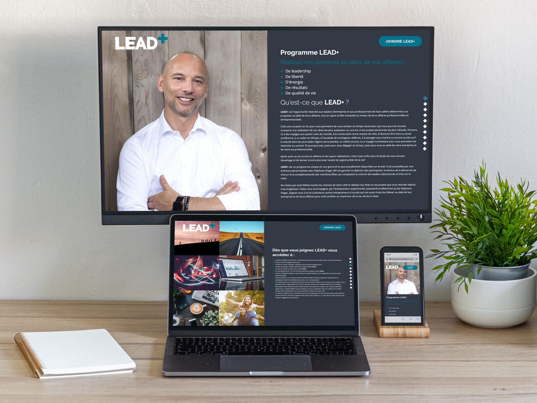 LEAD+ Program - Web site