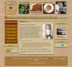 Projet : Café-Vrac