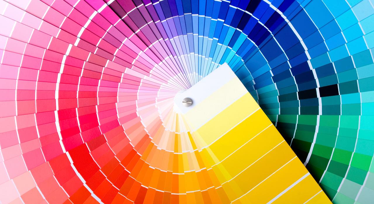 Nuancier de couleurs et dégradés