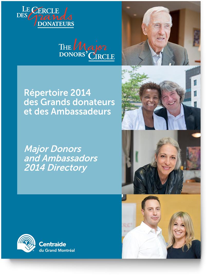 Centraide répertoir des Grands Donateurs