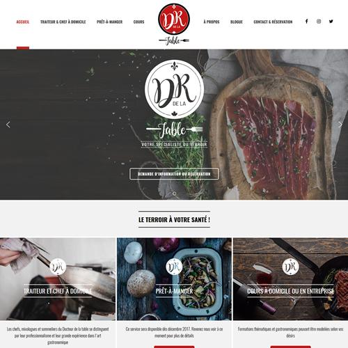 Site web Docteur de la Table
